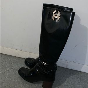Vintage Chanel boots limited edition